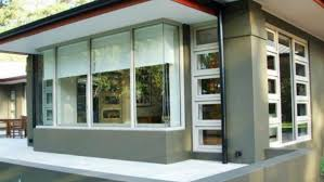 modern house windows and doors corner big types of architecture