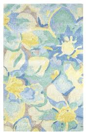 company c rugs blue poppies rug multi by company c company c rugs on