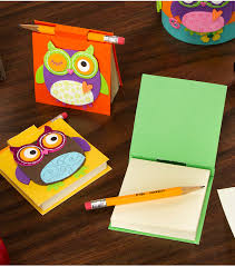 make note super cute and easy diy project owl themed post it covers