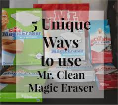 i m a er for anything that helps me clean and organize so it s no surprise that i m in love with mr clean magic eraser and the fact that just one