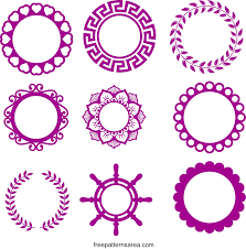It is one of the very best websites to get free svg files for cricut, silhouette and brother cut projects. Monogram Frames Free Svg Cutting File For Cricut Freepatternsarea