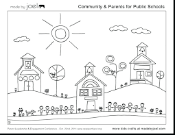 Community Helpers Coloring Page Community Helper Coloring With ...