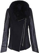 <b>куртка</b>, <b>женская</b>, черная, на <b>молнии</b>, с кожаными рукавами, с ...