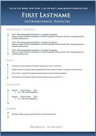 Free Professional Resume Templates 50 Free Microsoft Word Resume Templates  For Download Template