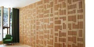 perforated wood acoustic wall panels