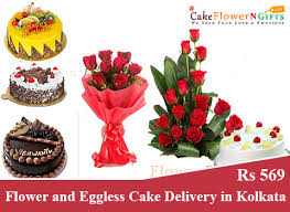 Online Cake And Flower Delivery In Kolkata At Midnight Sameday