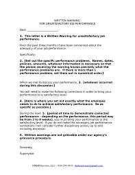 Hr Warning Letter 10 Hr Warning Letter Templates Free Samples Examples Formats