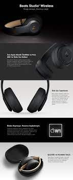 Beats Studio3 Wireless Kulak Çevresi Kulaklık - Beats Decade Fiyatı