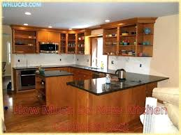 10x10 kitchen cabinets cost full size of much do new to install d41 install