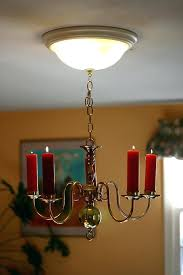 real candle chandelier retro fit lighting real candle chandelier