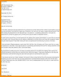 Sample Cover Letter Social Worker Social Work Cover Letter Examples
