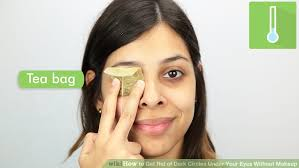 image led get rid of dark circles under your eyes without makeup step 1