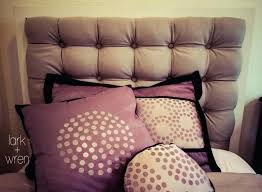 medium size of magnificent tufted headboard photo tutorial how to make a using pegboard remarkable it