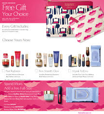receive a free 8 pc gift with your 45 estée lauder purchase