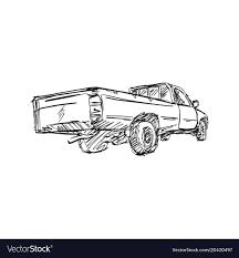 Pickup, Truck & Back Vector Images (50)