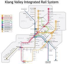 Kuala lumpur lrt, monorail map. Kuala Lumpur Lrt Ktm And Monorail Map Click To Enlarge Train Map Lrt Map Transit Map