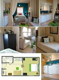 very small studio apartments