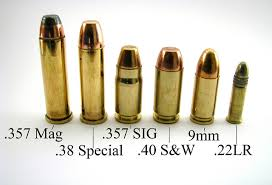 Handgun Caliber Chart Smallest To Largest Handgun Caliber Guide 22lr 9mm 380 357 And More