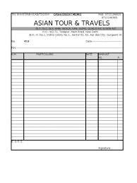 Invoice Template Free Download Word Adorable Bill Book Format Ohidul Tours And Travels Invoice Format In Word