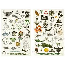 набор тату арт от Bondibon морские пираты купить отзывы фото