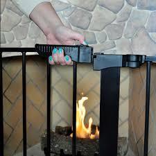 hearthgate child guard fireplace screen here2