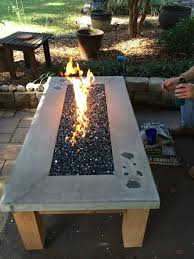 build your own gas fire table easyfirepits com