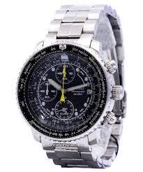 Citizen Watch Battery Replacement Chart Seiko Sna411 Sna411p1 Sna411p Pilots Flight Alarm