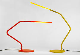 this rubber jointed led table lamp can bend in any direction like gumby