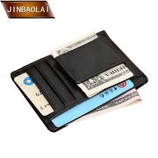 <b>JINBAOLAI</b> Men's Genuine Leather <b>Wallets</b> Magnetic Money Clip ...