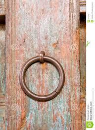 Decorating circular door images : Old Ornamental Door Circular Door Handle Stock Photo - Image: 6242730