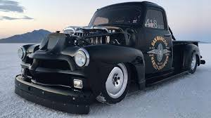 Check Out This 1954 Chevy 3100 Truck With a Quad-Turbocharged ...
