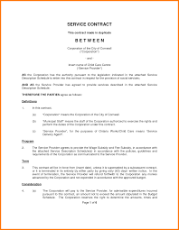 Template Service Agreement How To Write An Official Proposal