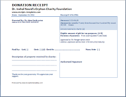 donation receipt forms donation receipt template free receipt templates