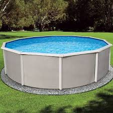 Above ground swimming pool Costco Belize Round Pool 15ft 52in Backyardcitypoolscom Belize Round Complete Above Ground Swimming Pool Kit 15ft Round 52