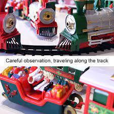 Bình luận đồ chơi trẻ em Xe Lửa Chạy Trên Đường Ray 15 Kiểu Giáng Sinh Cho  Bé