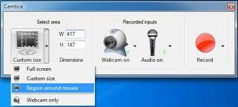 Record Desktop Windows 7 Camtica Screen Recorder Fully Professional Desktop Screen Recorder