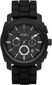 Fossil <b>Men's</b> Machine Stainless Steel <b>Chronograph</b> Quartz <b>Watch</b>