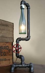 wine bottle lamps