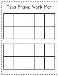 10 frame template math freebie print this double 10 frame template to help your