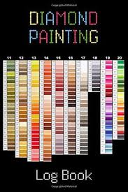 Diamond Painting Log Book Deluxe Edition With Space For