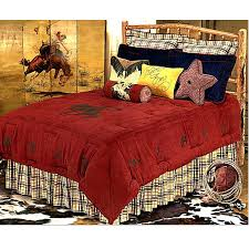 cowboy bedding western rodeo accessories king size