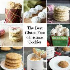 the best gluten free holiday cookies