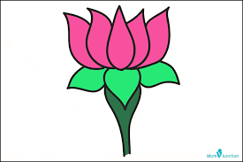 How To Make A Lotus Flower Out Of Paper How To Draw Lotus Easy Step By Step Guide