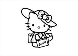 Printable kitty coloring page pdf free download. Hello Kitty Coloring Page 10 Free Psd Ai Vector Eps Format Download Free Premium Templates