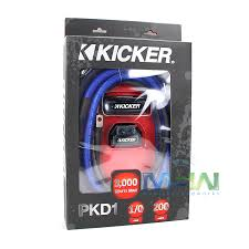 kicker gauge amp wiring kit annavernon kicker pkd1 1 0 gauge multi amp power wiring kit
