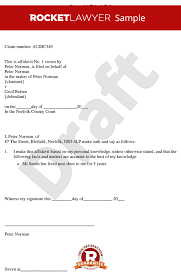 Affidavit Statement Of Facts Delectable Affidavit Form Create Free General Affidavit Template