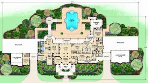 mediterranean home design plans elegant mediterranean house plans 5000 sq ft home floor with center
