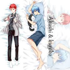 kuroko no basket dakimakura hugging pillow anime cover28 free ship
