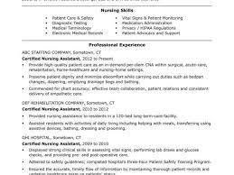 Cna Resume Templates Inspiration Cna Resume No Experience From Resume Templates For Nurses And Cna