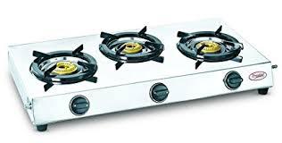 Buy Prestige 40150 Perfect Stainless Steel 3 Burner Gas Stove